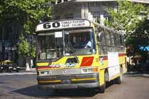 Buenos Aires bus number 60