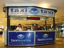 Taxi Ezeiza booth